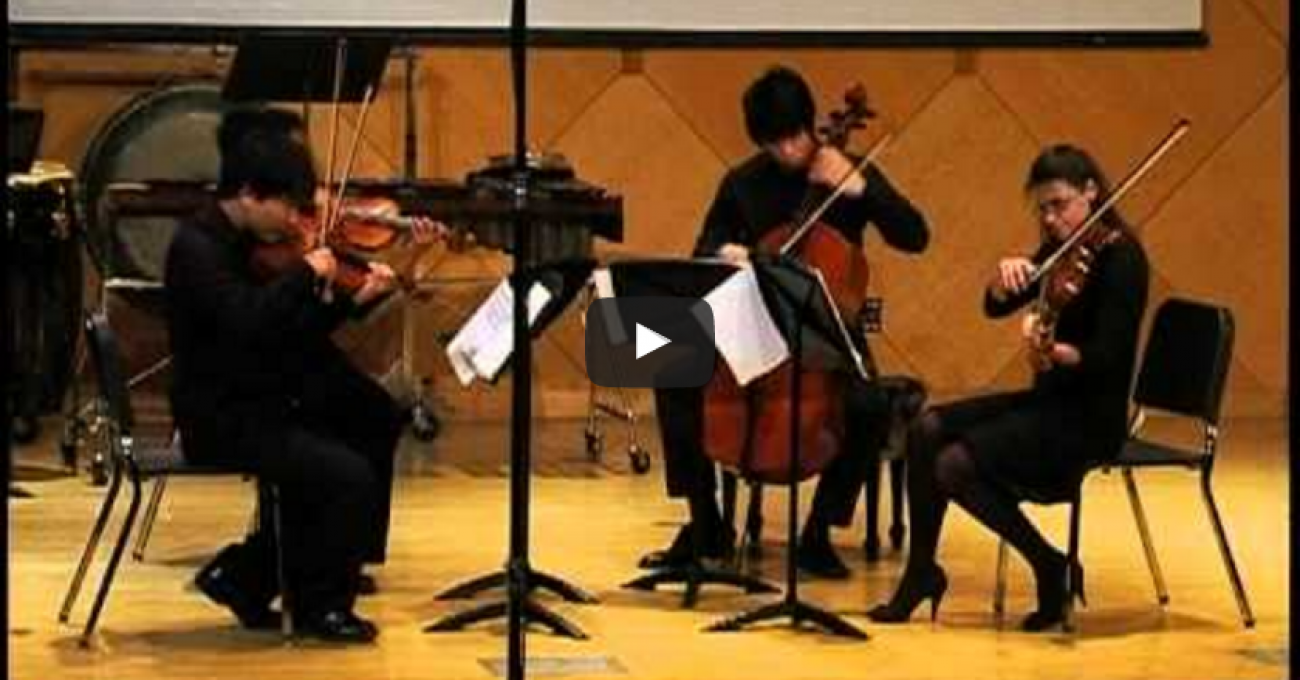 Dynamo for String Quartet by Mauricio Arias